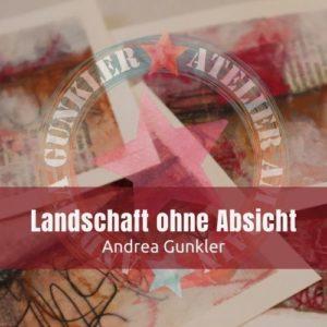 Landschaft ohne Absicht - Mixed Media-Minikurs