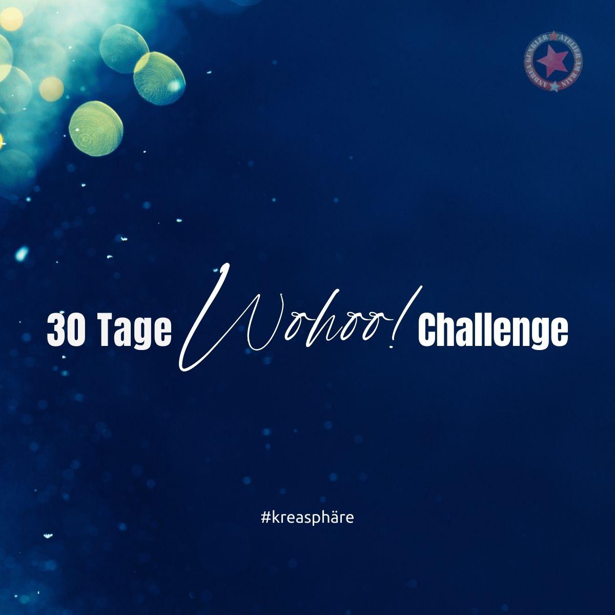 30 Tage Wohoo Challenge Titelbild
