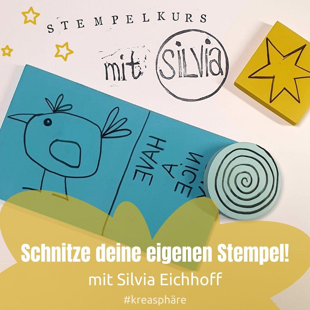 Titelbild Stempelkurs mit Silvia