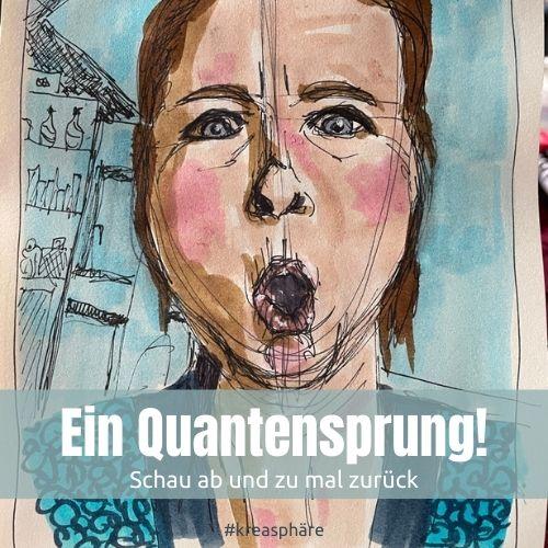 Selbstporträt Quantensprung